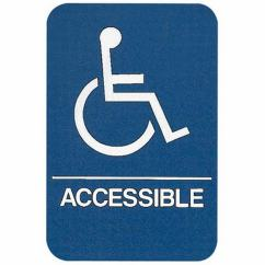 Wheelchair Accessible Dining Tables And Chairs Sign Ada Compliant Educator 39s Depot