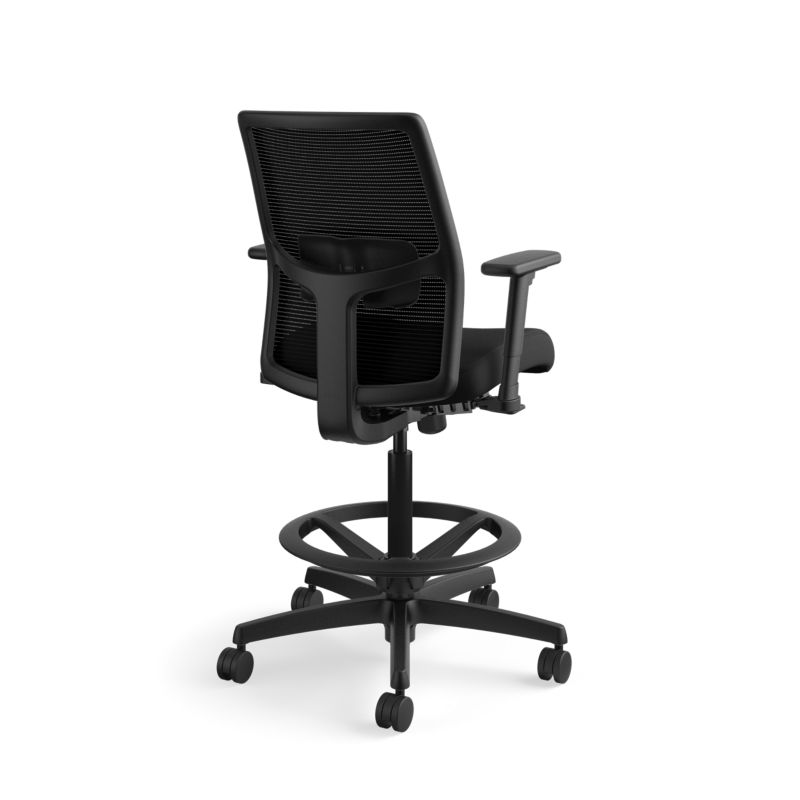 hon ignition 2 0 chair review makeup chairs wholesale low back ilira stretch mesh task stool black frame