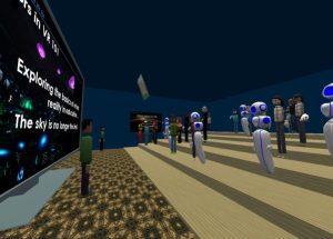 Educators in VR - Daniel Dyboski-Bryant presents a workshop in AltspaceVR.