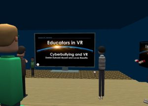Educators in VR - Cyberbullying Month Workshops