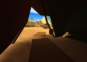Ancient Egypt and Pyramids in AltspaceVR.