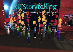 Students in VR - XR Storytelling