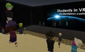 Students in VR Weekly Meetup in AltspaceVR.