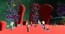 AltspaceVR walking on the Covid 19 Virus