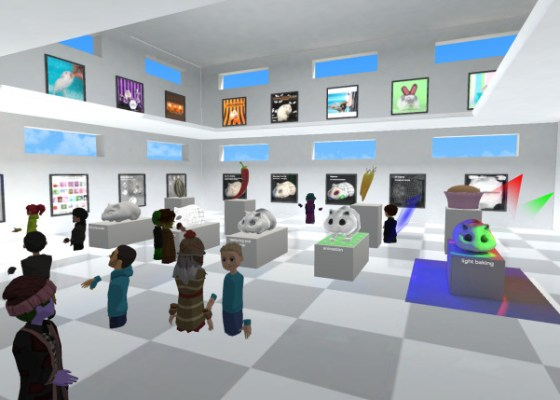 AltspaceVR student created gallery of Unity animation projects.