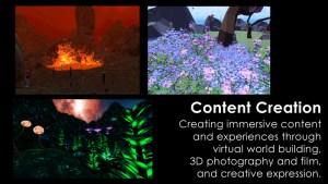 Educators in VR Content Creation Team.