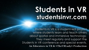 Students in VR Mission.