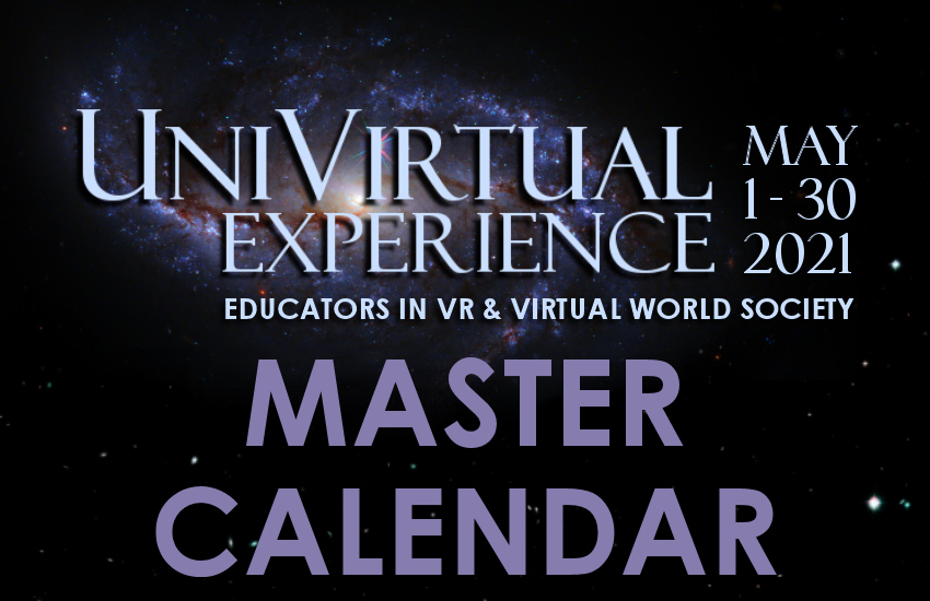 UniVirtual Experience Schedule