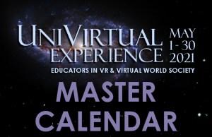 UniVirtual Site Featured Images Master Calendar