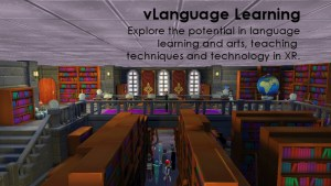 vLanguage Learning Educators in VR Team Project.