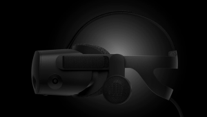HP Reverb G2 VR headset.