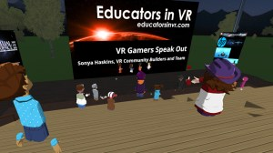 Educators in VR Cyberbullying Month - VR Gamers Speak Out 2021.