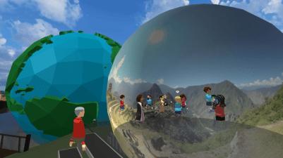EDVR Virtual Schooling Team - Around the World event exploring landmarks with photo spheres.