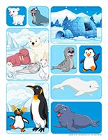 Les Animaux De La Banquise : animaux, banquise, Animaux, Polaires,, Activités, Enfants., Educatout