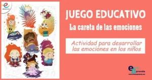 desarrollar las emociones básicas en niños