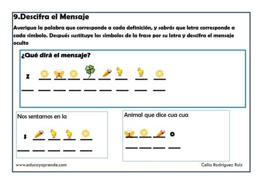 DESCIFRA EL MENSAJE_009