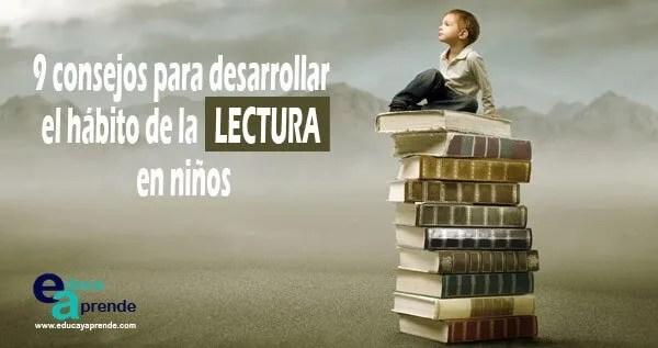 hábito de la lectura, desarrollar la lectura