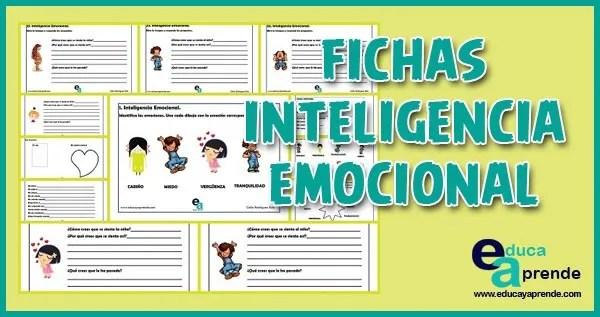 inteligencia emocional, fichas inteligencia emocional