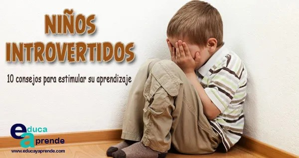 niños introvertidos