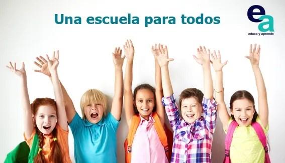 escuela, aprendizajes, escuela para todos, colegio, enseñar, aprender