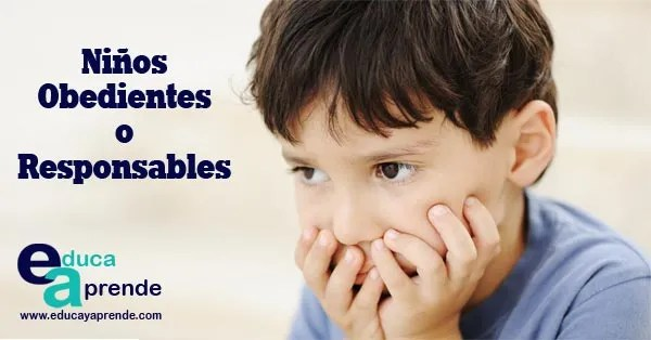 niños responsables