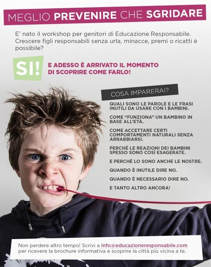 educazione responsabile workshop in aula