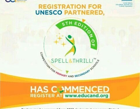 Register Students in your school to participate in the Spell and Thrill Competition