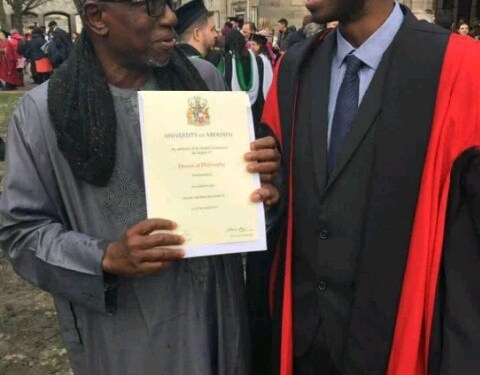 Criticisms trail NUC boss' son's graduation from UK university