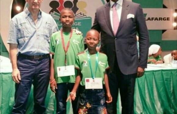Edo wins Lafarge Literacy Competition 2017