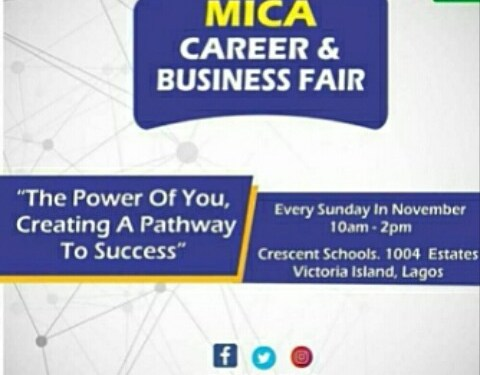 Attend the MICA Career and Business Fair this November in Lagos