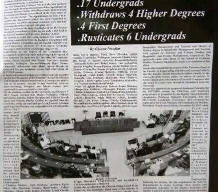 UNIPORT expells 47 graduates, 17 undergraduates