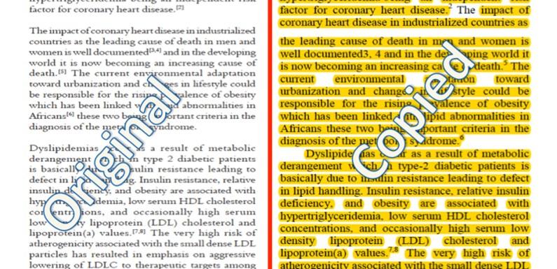 Five Nepali, Indian researchers plagiarise Nigerians' research work