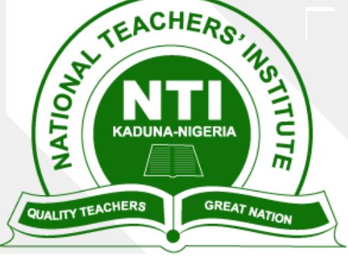 Apply for Postgraduate Diploma in Education at NTI