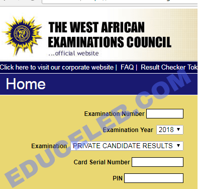 How to check your WAEC result