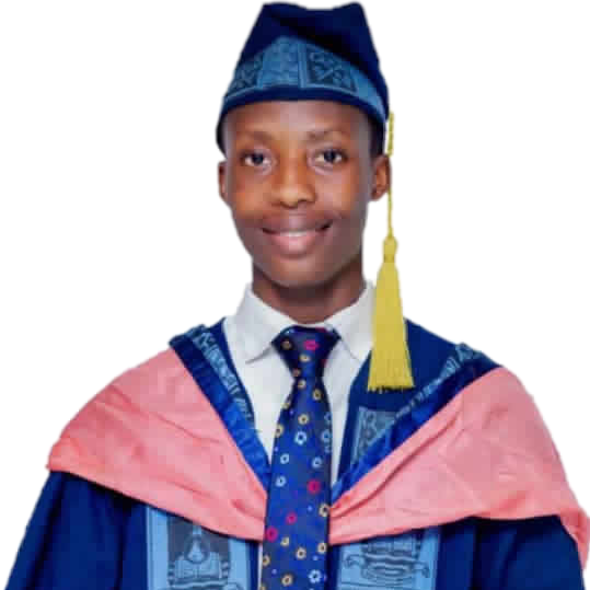 Ridwan Ola-Gbadamosi, Best Graduating Student, LASU. Photo: EduCeleb
