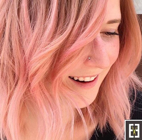 single process hair color