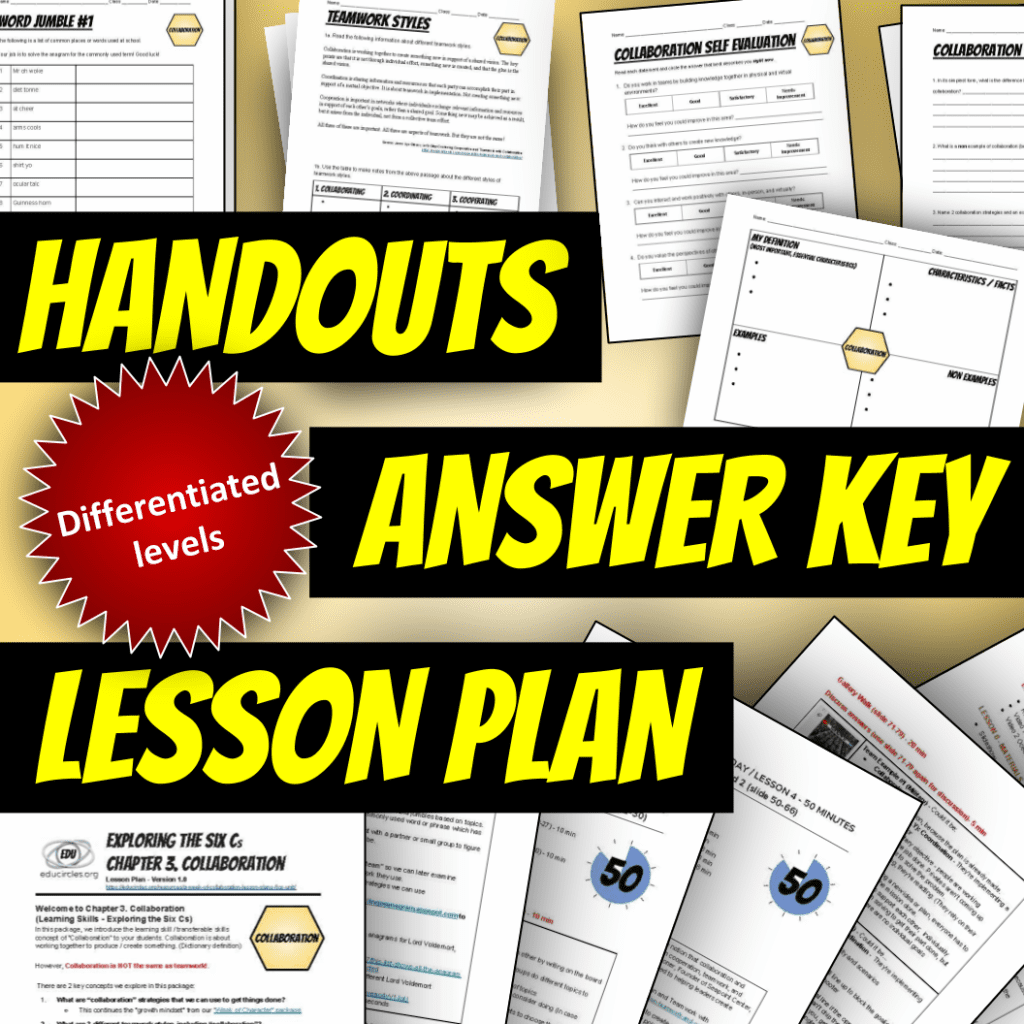 hight resolution of Teaching Collaboration Lesson Plans