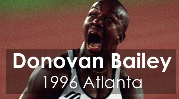 Youtube Video: Donovan Bailey 1996 Atlanta