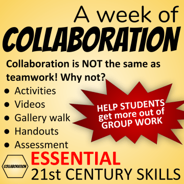 A week of Collaboration - Help students get more out of group work