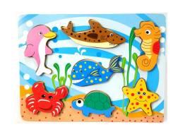 #136 Chunky puzzles Sea