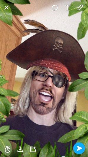 Blog Tech Snapchat Pirate