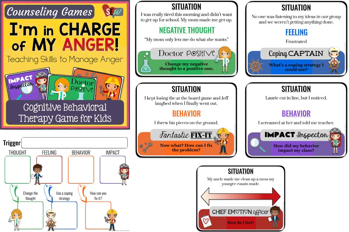 20 Anger Management Card Games For Schools And Families