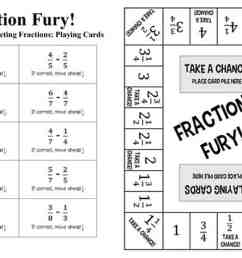 11 Printable Board Games for Adding \u0026 Subtracting Fractions [ 800 x 1200 Pixel ]