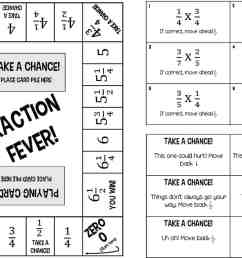 6 Printable Fraction Board Games for Multiplying and Dividing Fractions [ 800 x 1200 Pixel ]