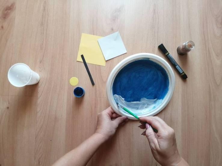 Morze - praca plastyczna