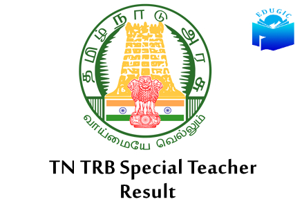 TRB Special Teacher Merit List 2021