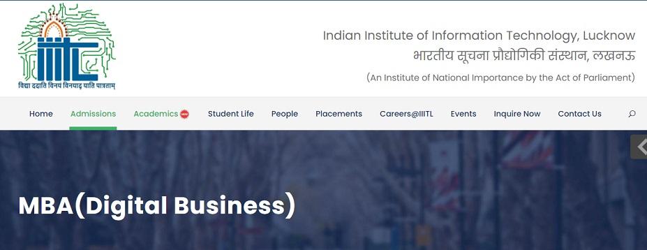 IIIT Lucknow Admission 2021