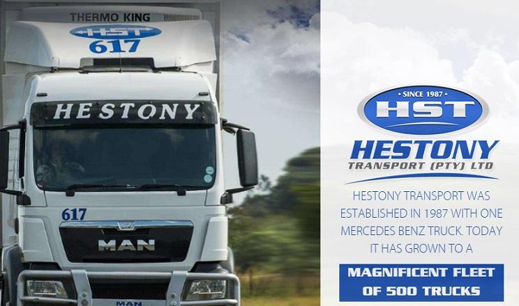 Hestony Transport Application Form 2021