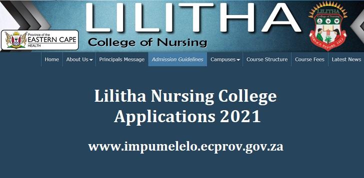 Lilitha Nursing College Applications 2021