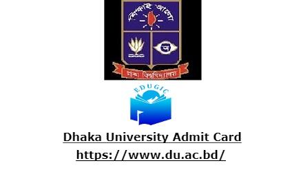 Dhaka University Admit Card